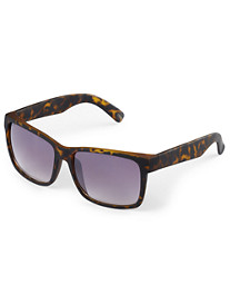 True Nation® Tortoise-Shell Rubber Framed Sunglasses