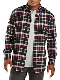 Harbor Bay® Large Plaid Sport Shirt