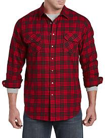 True Nation® Small Plaid Flannel Shirt