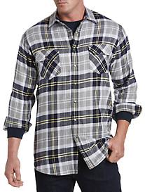 True Nation® Multi Plaid Flannel Sport Shirt