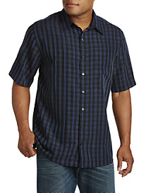 Synrgy™ Medium Plaid Microfiber Sport Shirt