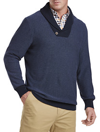 Oak Hill® Shawl-Collar Sweater