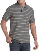 Harbor Bay® Single-Stripe Polo
