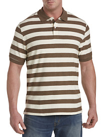 Harbor Bay® Medium Rugby Stripe Polo