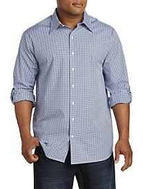 Synrgy™ Stripe Roll-Sleeve Sport Shirt