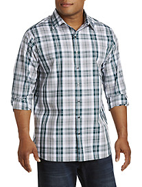 Synrgy™ Large Plaid Sport Shirt