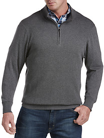 Synrgy™ 1/4-Zip Textured Sweater