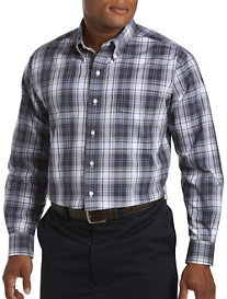 Oak Hill® Large Plaid Sport Shirt