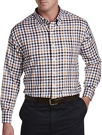 Oak Hill® Small Plaid Sport Shirt