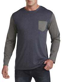 True Nation® Colorblock Long-Sleeve Tee