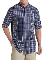 Harbor Bay®Easy-Care Large Plaid Sport Shirt