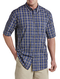 Harbor Bay®Easy-Care Large Plaid Sport Shirt