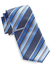 Gold Series® Thick Textured Stripe Tie