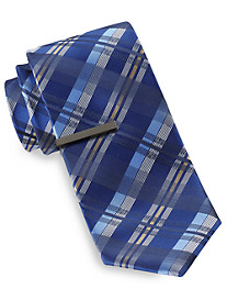 Gold Series® Plaid Tie with Tie Bar
