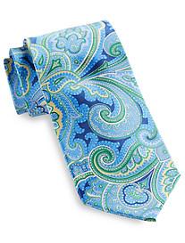 Geoffrey Beene® Flowery Paisley Silk Tie