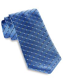 Geoffrey Beene® City Grid Silk Tie