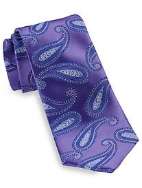 Geoffrey Beene® Graceful Paisley Silk Tie