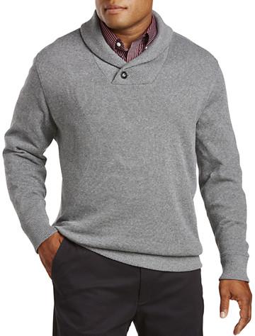 Oak Hill® Shawl-Collar Sweater | Long Sleeve Knits