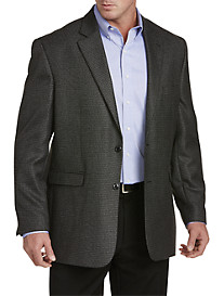 Oak Hill® Jacket Relaxer™ Houndstooth Sport Coat – Executive Cut