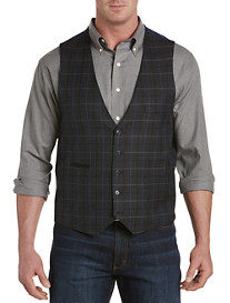Oak Hill® Windowpane Reversible Vest