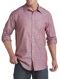 True Nation® Roll-Sleeve Sport Shirt
