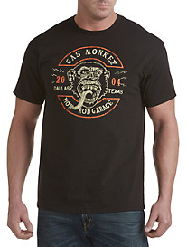 Gas Monkey Garage® Shop Circle Graphic Tee