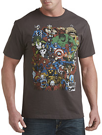 Marvel Retro Group Graphic Tee