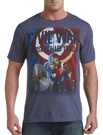 Civil War: Whose Side? Graphic Tee
