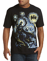 Abstract Batman Graphic Tee