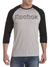 Reebok Camo-Detailed Baseball Tee