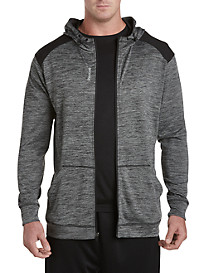 Reebok Full-Zip Heather Hooded Jacket