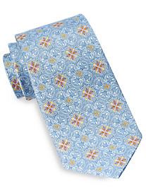 Gold Series® Jacquard Medallion Silk Tie