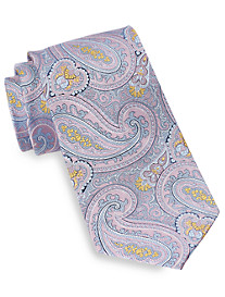 Gold Series® Large Paisley Silk Tie