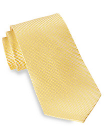 Gold Series Small Dot Pattern Silk Tie