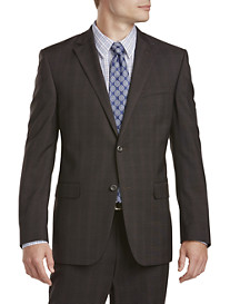 Geoffrey Beene® Tonal Plaid Suit Jacket