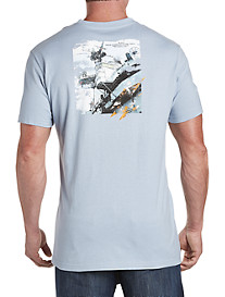Nautica® Distressed Warship Graphic Tee