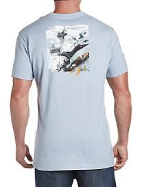Nautica® Distressed Warship Graphic Tee