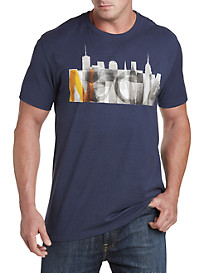 Nautica® City Spray Graphic Tee