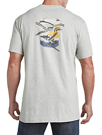 Nautica® No. 3 with Boat Tails Graphic Tee