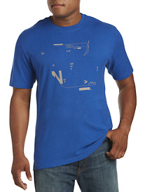 Nautica® Computer Punch Card Graphic Tee