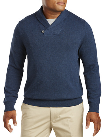 Nautica® Donegal Shawl-Collar Sweater | Available in mood indigo