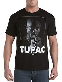 Tupac Profile Graphic Tee