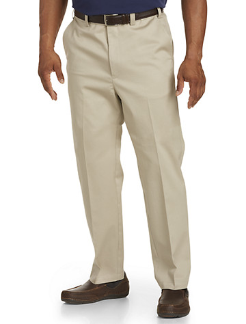 Oak Hill® Straight-Fit Premium Pants with Stretch - Available in khaki
