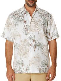 Cubavera® Leaf-Pattern Sport Shirt