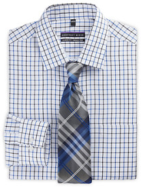 Geoffrey Beene® Tattersall Dress Shirt