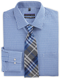 Geoffrey Beene® Dobby Gingham Dress Shirt