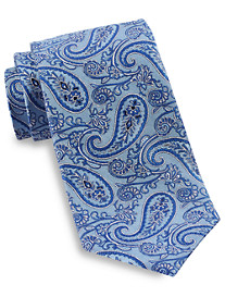 Gold Series® Textured Outline Paisley Silk Tie