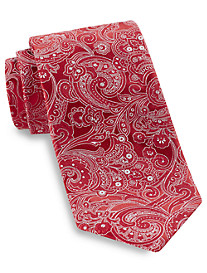 Gold Series Tonal Textured Paisley Silk Tie