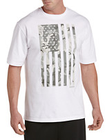 Reebok Camo Flag Graphic Tee