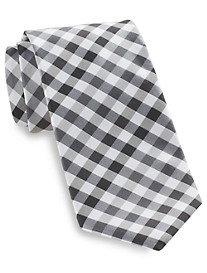 Synrgy™ Small Check Plaid Tie